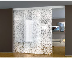Casali Beta sliding glass door porta scorrevole vetro Ott'anta