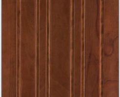 marte in legno okumè tinto moka